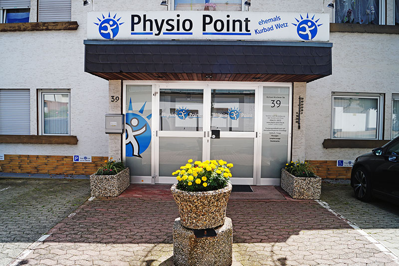 Physio Point Eingang